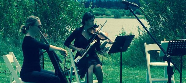 classical violin music sisters weddings
